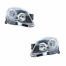 Vauxhall Astra H Mk5 Convertible 2004-6/2007 Black Headlights Headlamps 1 Pair