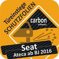 Seat Ateca ab 2016 Tür Einstiege Schweller Auto Schutz Lackschutz Folie