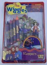New 2003 The Wiggles Stampers & Crayons Coloring Activity Set - Stamp Stamper