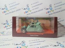 Voiture Tintin Citroën 2CV Belge  1:43 eme