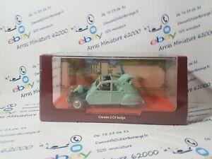 Voitures Tintin Citroën 2CV Belge  1:43 eme
