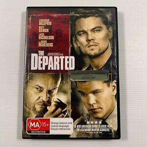 The Departed (DVD 2007) Leonardo DiCaprio Mark Wahlberg Region 4