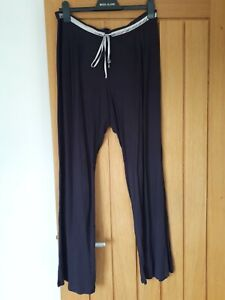 Marks And Spencers Autograph Size 16 long Aubergine Pyjama Bottoms