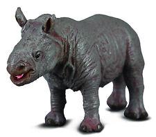 CollectA 88089 White Rhinoceros Calf African Wildlife Toy Animal Replica - Nip