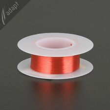 Magnet Wire, Enameled Copper, Red, 40 Awg (gauge), 155C, ~0.5 oz, 1000' Hpn