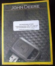 John Deere Anbaufeldspritze 508 + 510 + 512 Anleitung