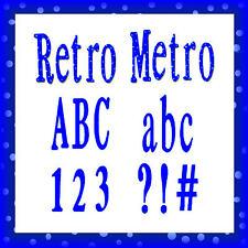 Sizzlits Retro Metro Alphabet 35 dies, #654817 Retail $149.99 SO SOPHISTICATED!!