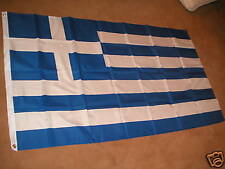 GREEK FLAG GREECE FLAGS 3'X2' BRAND NEW