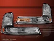 1998-2000 FORD RANGER CLEAR CORNER PARKING SIGNAL LIGHTS LAMPS PAIR BRNAD NEW