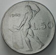 1962   Repubblica Italiana   50   lire