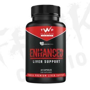 TWP Nutrition Enhanced Liver Support  Tudca 💥BEST LIVER SUPPORT💥Offer £29.99💥