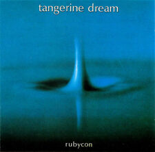 Tangerine Dream ‎– Rubycon CD High Definition Remastered Italian Issue  1995