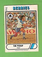 1976 SCANLENS  RUGBY LEAGUE CARD  #109  TIM PICKUP, CANTERBURY BULLDOGS