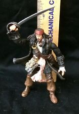 Pirates of The Caribbean Dead Man's Chest Captain Jack Sparrow with Sword Zizzle