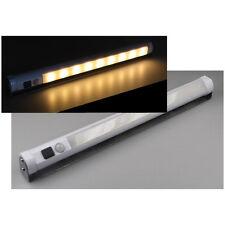 Unterbauleuchte 27cm 9SMD LED Leiste + Bewegungsmelder Batterie Warmweiß 5249
