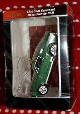 """Kurt Adler Ornament 2007 Car Auto Green Mustang Collect 3.5"""" Hand Crafted New"""
