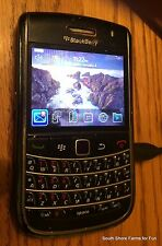 BLACKBERRY BOLD 9650 CDMA MTS WIPED SMART PHONE NICE SHAPE