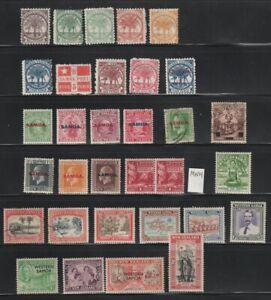 Samoa 1886 - 1953 MH / MNH / Used Collection 2 Scans CV $102.05