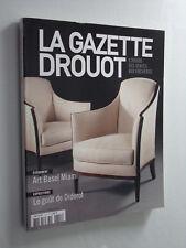 La Gazette Drouot Art Basel Miami, Le goût de Diderot  N° 41 du 29 Novembre 2013