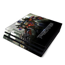 Skin Decal Cover Sticker for Sony PS4 Pro - Transformers Optimus Prime Autobots