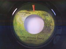 "RADHA KRISHNA TEMPLE ""GOVINDA / GOVINDA JAI JAI"" 45"