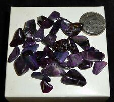Natural Sugilite Tumbled Chakra Stones 17.1 grams