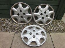 "3 x 14"" Honda Civic wheel trims Hub Caps... . ..wk48...."