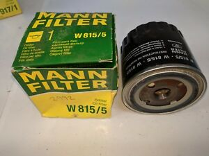 MANN OIL FILTER W815/5 FITS RENAULT 2.1 - 2.2 DIESEL