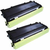 2PK Toner for Brother TN360 DCP-7030 DCP-7040 DCP-7045N HL-2140 MFC-7345DN