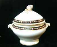 Hand Painted Roses China - Large Covered Tureen