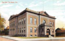 THE DALLES, OR Oregon       CITY HALL     Wasco County     c1910's Postcard