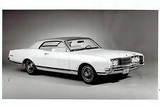 1972 Original Photo by FORD MOTOR CO. 2-Door Mercury Montego MX Myriad Auto Car