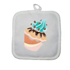 Manique gant de cuisine cupcake