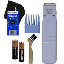 Panasonic 5-Position Bikini Trimmer & Shaper + Comb Attach + 2 Batteries + Brush