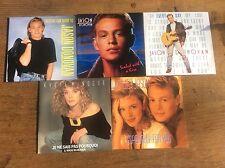 Collection 5 Vinyl 45 Singles 1980s Kylie Minogue Jason Donovan Picture Covers