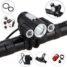 BYCICLE 10000Lumens Front Light Adjust Headlamp LED Highlight Super Bright Torch