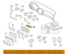 HONDA OEM 1996 Civic Dash Cluster Switch-Circuit Board 78108S01A11