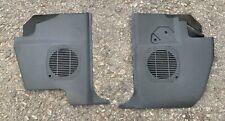PAIR BMW 3 Series e30 Saloon Touring BLACK Kick Panel Speaker Grilles