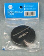 NOS GENUINE MINOLTA 62MM FRONT LENS CAP #LF-1162 - JAPAN