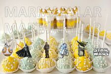 Star Wars Cake Pops Toppers, Cupcakes Toppers and Cake Topper - PRINTABLE