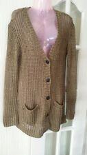 Ralph Lauren 100% linen cardigan Size M RRP £450