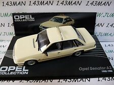 OPE120R voiture 1/43 IXO eagle moss OPEL collection : SENATOR A2 taxi 82/86