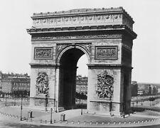 PARIS ARC DE TRIOMPHE 8X10 PHOTO EDOUARD BALDUS