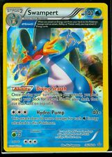 Pokemon SWAMPERT 36/160 - XY Primal Clash RARE HOLO - MINT