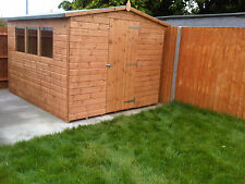 10x8 Wooden Garden Shed 10ft x 8ft 12mm Tongue & Groove Shiplap Shed