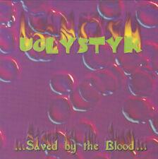 UGLYSTYK - SAVED BY THE BLOOD (*Used-CD, 2000, Indie) Xian AOR Metal Demo Rare!