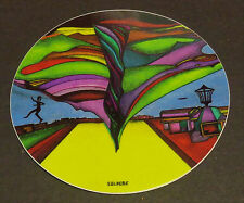 "~New-4"" Sticker-""Disc Golfer in Oz""-Very High Quality. Water + Fade Proof~"