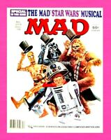 MAD MAGAZINE #203, DECEMBER 1978, E.C. COMICS, STAR WARS MUSICAL, ALFRED E NEUMA