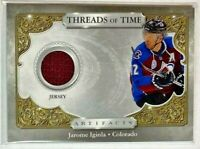 Jarome Iginla game-used relic 2020-21 Upper Deck Artifacts - Colorado Avalanche