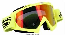 SLINE GAFAS ENMASCARAR PANEL CASCO CRUZ MOTO IRIDIO AMARILLO FLUO ENDURO